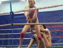 Exciting babes with cool parts of bodies are spending so cool time together. They are having catfight and want u to take a glance at it! Enjoy from this great view.
