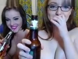 Astounding Webcam movie with Lesbian, Big Bumpers scenes